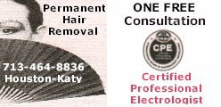 Electrologist Coupon on KatyInfo.com